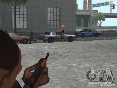 M1A1 Carbine para GTA San Andreas quinto tela