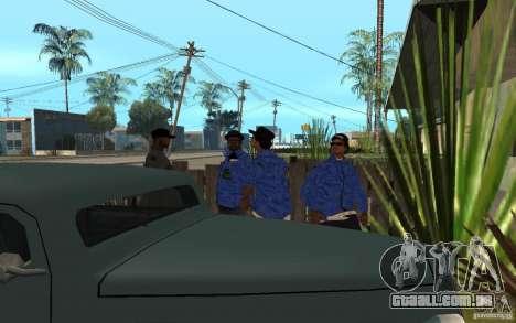 Crips 4 Life para GTA San Andreas sétima tela