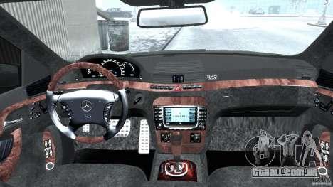 Mercedes-Benz W220 para GTA 4 vista direita