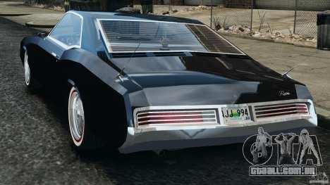 Buick Riviera 1966 v1.0 para GTA 4 traseira esquerda vista