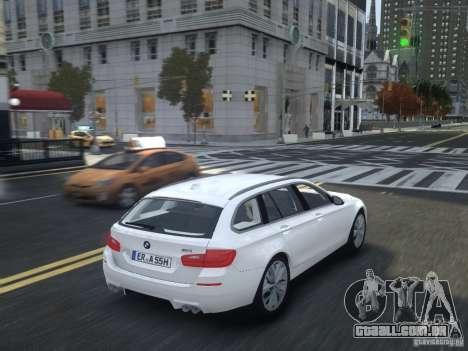 BMW M5 F11 Touring V.2.0 para GTA 4 vista de volta