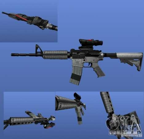O M4a1 para GTA 4