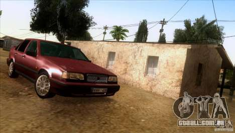 Volvo 850 Final Version para GTA San Andreas vista traseira