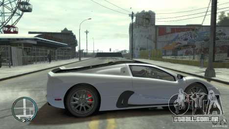Shelby Super Cars Ultimate Aero para GTA 4 vista interior