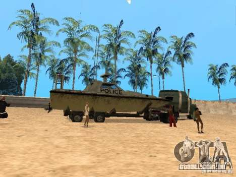 Reboque de barcos para GTA San Andreas