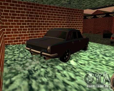 GÁS 24 v3 para GTA San Andreas traseira esquerda vista