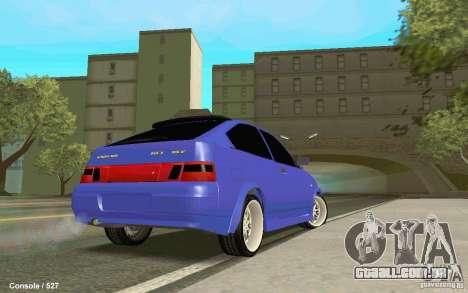 Lada 2112 Coupe para GTA San Andreas esquerda vista