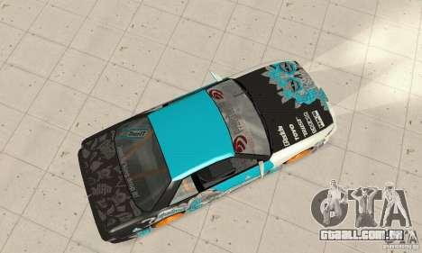 Nissan Silvia S13 NonGrata para GTA San Andreas traseira esquerda vista