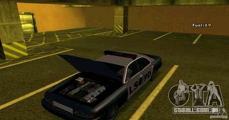 Merit Police Version 2 para GTA San Andreas traseira esquerda vista
