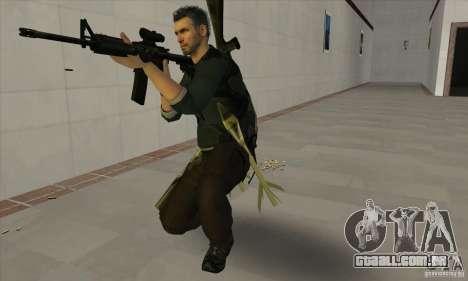 Sam Fisher para GTA San Andreas por diante tela