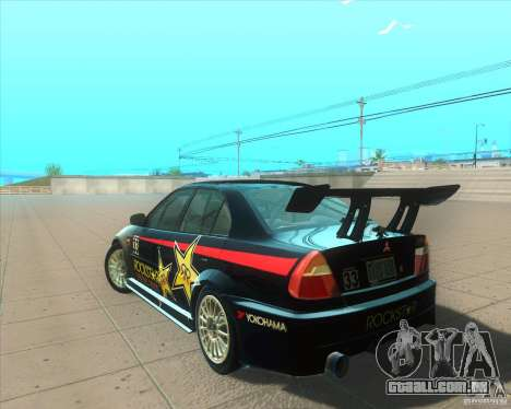 Mitsubishi Lancer Evolution VI 1999 Tunable para GTA San Andreas