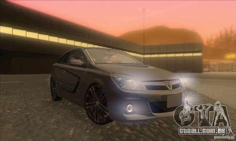 Opel Astra GTC DIM v1.0 para GTA San Andreas vista traseira