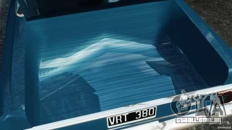 Renault Torino 380 W para GTA 4 vista superior
