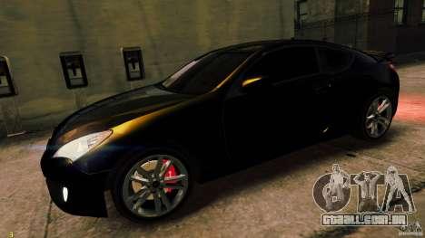 Hyundai Genesis Coupe 2010 para GTA 4