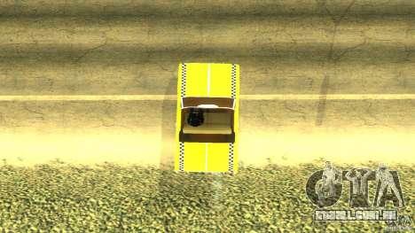 Crazy Taxi - B.D.Joe para GTA San Andreas traseira esquerda vista