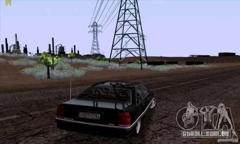 Opel Omega A Diamant Stock para GTA San Andreas esquerda vista