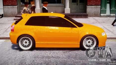 Audi A3 Tuning para GTA 4 vista inferior