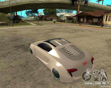 AUDI RSQ concept 2035 para GTA San Andreas esquerda vista