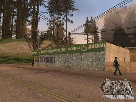 A aldeia de Ivanovka para GTA San Andreas twelth tela