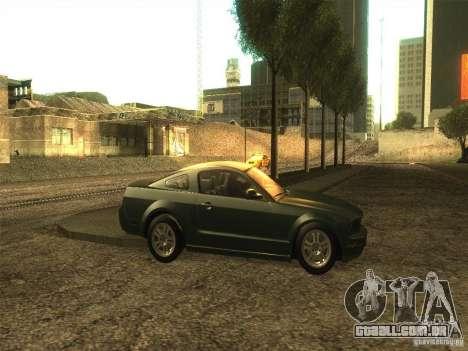ENB v1 by Tinrion para GTA San Andreas quinto tela