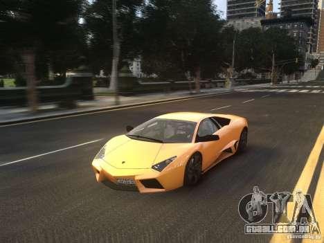 Lamborghini Reventon 2008 para GTA 4 vista de volta