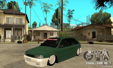Volkswagen Gol v1 para GTA San Andreas