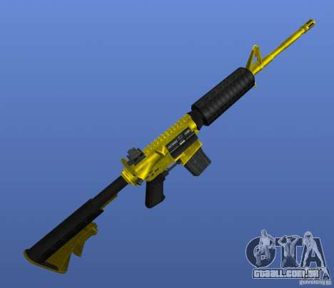 M4A1 para GTA 4 terceira tela
