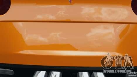 Chevrolet Corvette C6 Grand Sport 2010 para GTA 4 motor