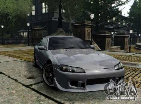 Nissan Silvia S15 para GTA 4 vista de volta