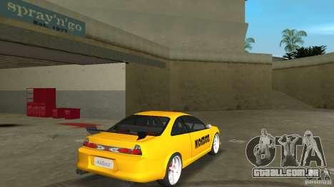 Honda Accord Coupe Tuning para GTA Vice City vista direita