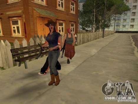 Qualquer grupo do player 3.0 para GTA San Andreas segunda tela