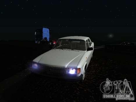 Volga GAZ 31029 para GTA San Andreas vista superior