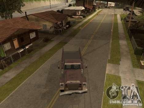 Ford Freightliner para GTA San Andreas traseira esquerda vista