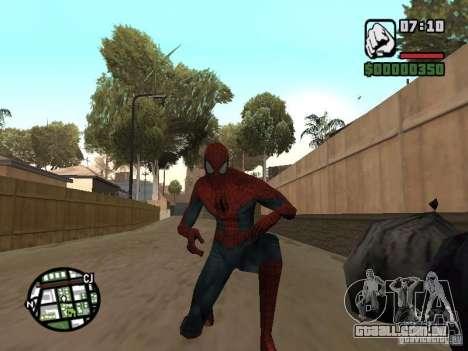 Homem-Aranha 2099 para GTA San Andreas por diante tela