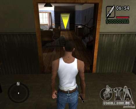 NewFontsSA 2012 para GTA San Andreas quinto tela