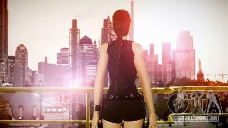 Angelina Jolie (Tomb Raider) para GTA 4 por diante tela