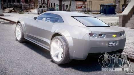 Chevrolet Camaro 2009 para GTA 4 traseira esquerda vista
