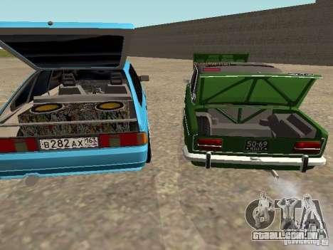 Moskvich 2141 para as rodas de GTA San Andreas