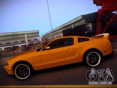 Ford Mustang GT 2010 Tuning para GTA San Andreas esquerda vista