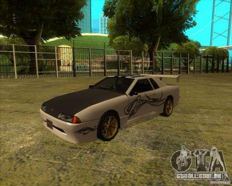 Elegia com novos spoilers para GTA San Andreas vista direita