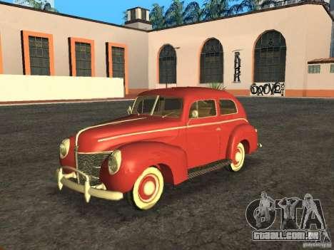 Ford 1940 v8 para GTA San Andreas