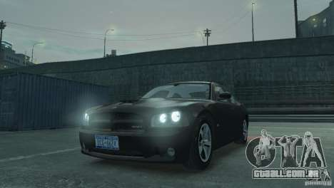 Dodge Charger 2007 SRT8 para GTA 4