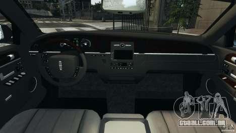 Lincoln Town Car 2006 v1.0 para GTA 4 vista de volta