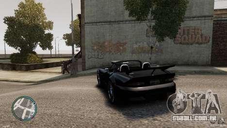 Blue Neon Banshee para GTA 4 traseira esquerda vista