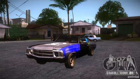Chevrolet Chevelle SS DC para GTA San Andreas