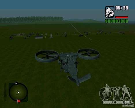 SA-2 Samson para GTA San Andreas vista direita