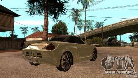 Toyota MR-S Veilside para GTA San Andreas vista direita