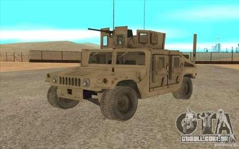 Hummer H1 Military HumVee para GTA San Andreas