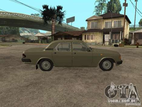 GAZ 3110 v 1 para GTA San Andreas esquerda vista