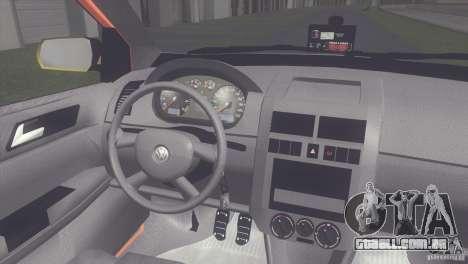 VW Polo Taxi de Porto Alegre para GTA San Andreas vista direita